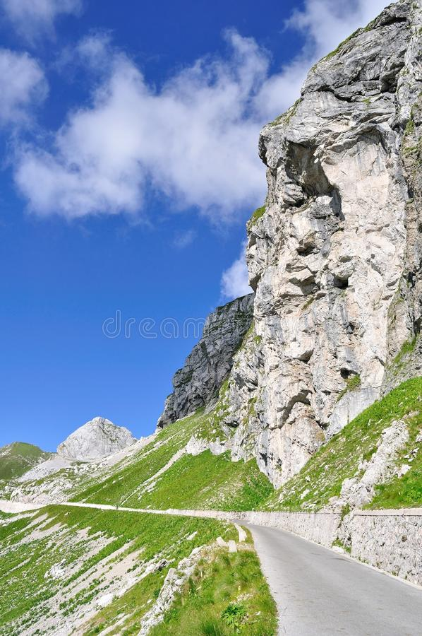 Download Mountain road stock photo. Image of alps, trnquil, mountain - 11007490