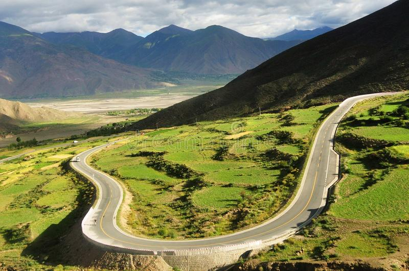 Download Mountain road stock photo. Image of field, highway, altiplano - 13377284