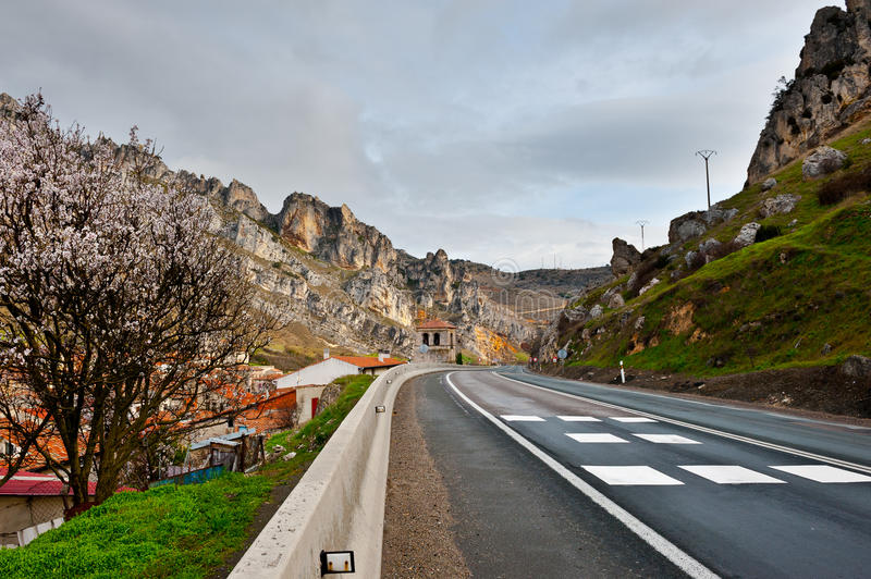 Download Mountain Road stock image. Image of landscape, road, almond - 24147441
