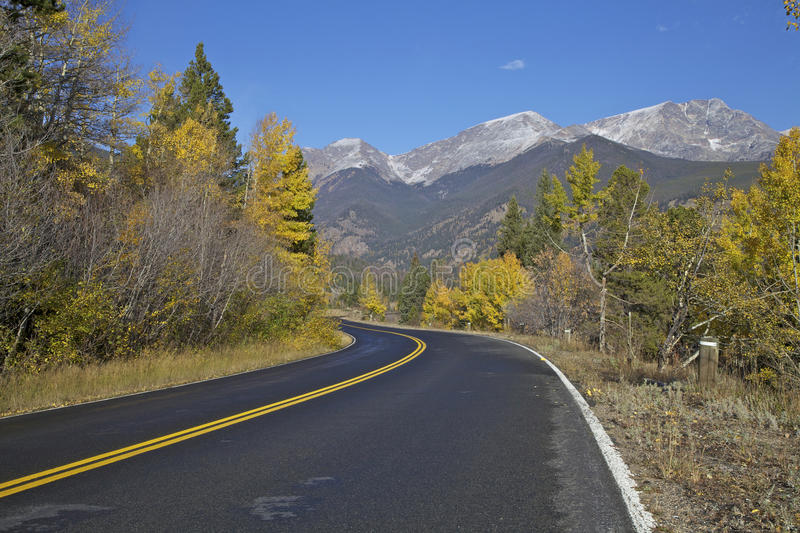 Mountain Road in Fall