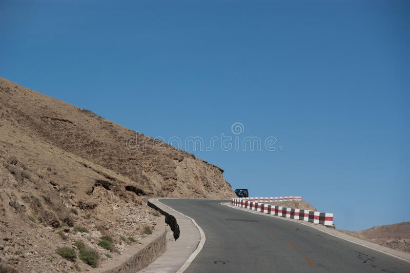 Download Mountain road view stock image. Image of highlands, grandeur - 16631669