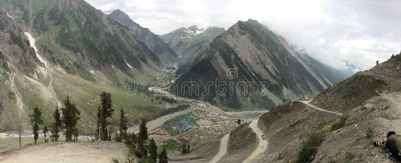 Mountain roads in Leh, India royalty free stock photo