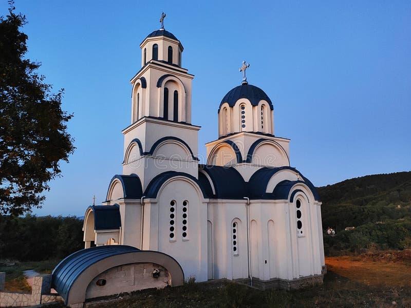 Mountain Rudnik Serbia local Orthodox Church dedicated to Saint George stock photo