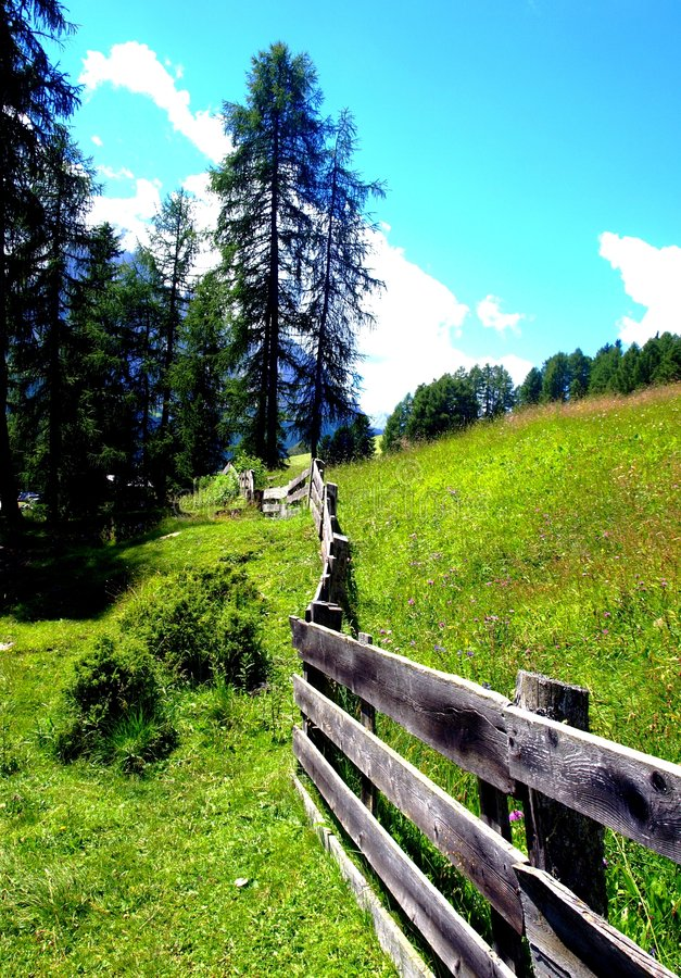 Free Mountain S Fence Stock Images - 5963014