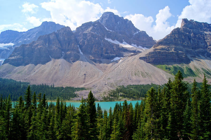 Download Mountain scene stock image. Image of nature, canada, hiking - 28757357