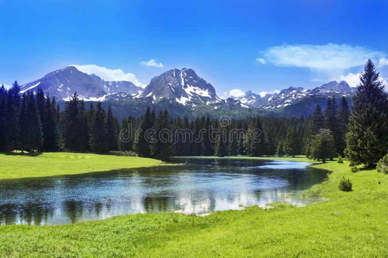 Mountain scenery royalty free stock photography