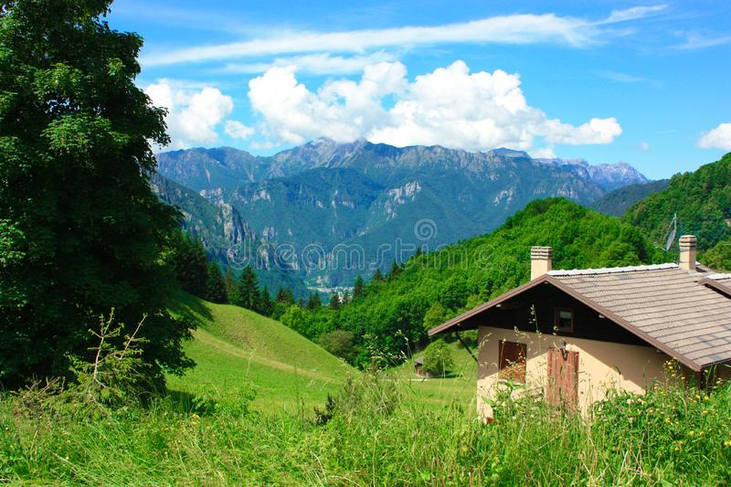 Download Mountain scenery stock photo. Image of colorful, mountain - 13687778