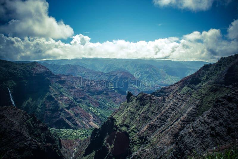 Mountain scenic stock photo