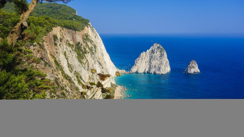 Mountain by the Sea royalty free stock images