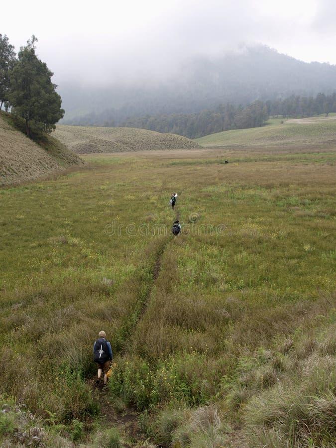 Mountain Semeru royalty free stock images