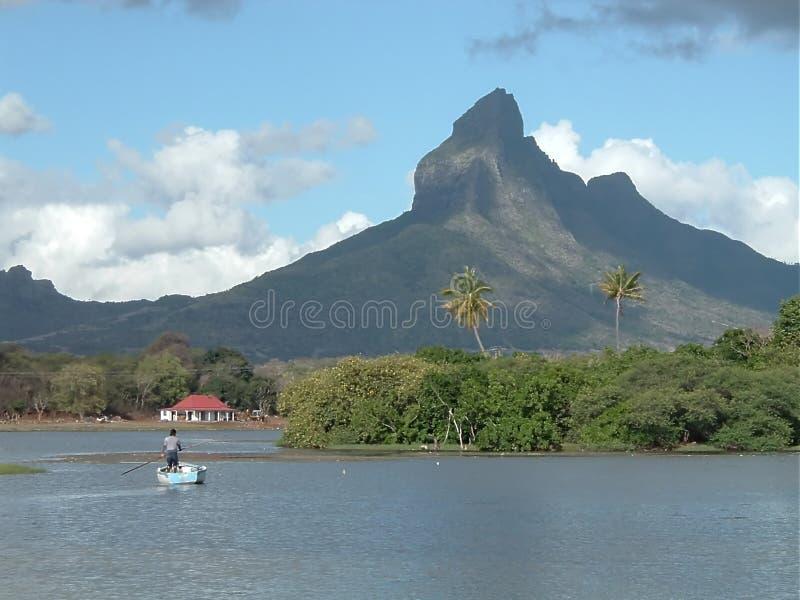 Download Mountain Series stock image. Image of peak, boat, fisherman - 12877