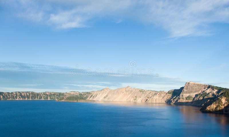 Download Mountain Shoreline stock image. Image of discover, mazama - 22702081