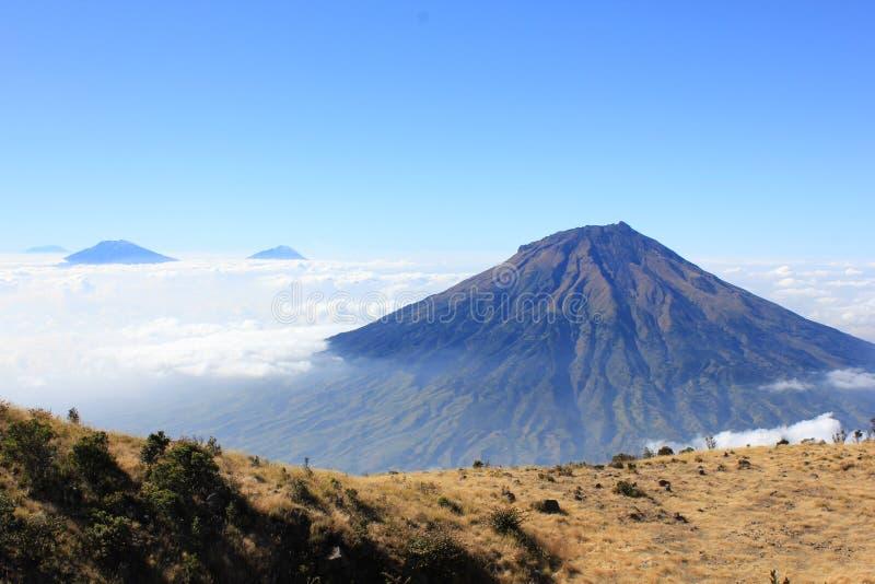 Mountain Sindoro royalty free stock images
