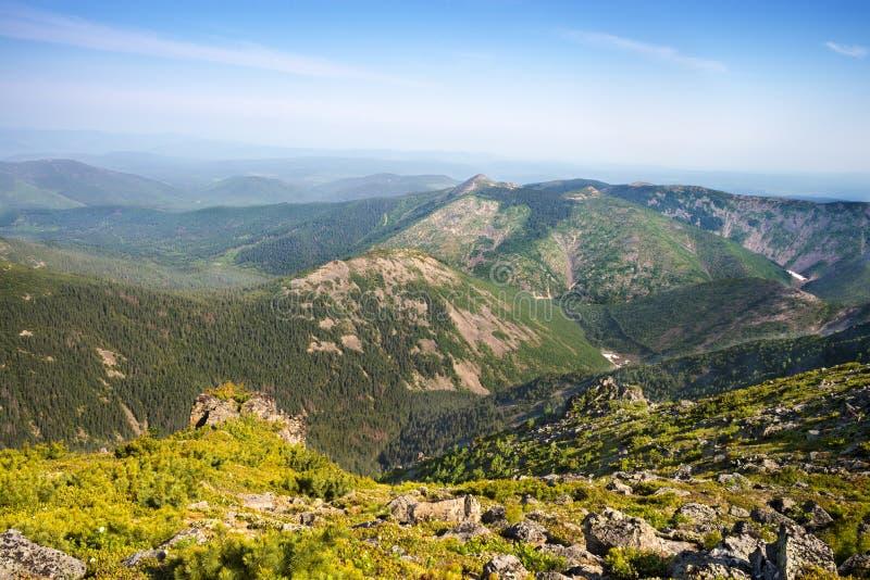 Mountain sistema Miao Chan. Mountain called Chalba. The Russian Far East royalty free stock photos