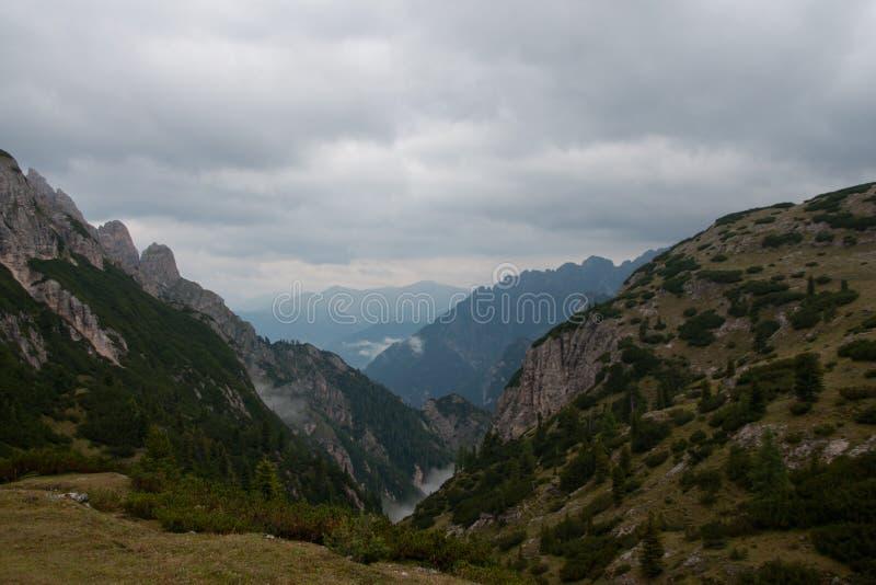 Mountain in south tirol stock photo