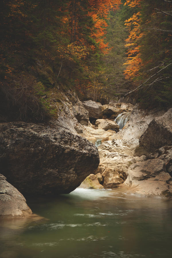 Download Mountain Spring/river During Autumn Stock Image - Image: 28801741
