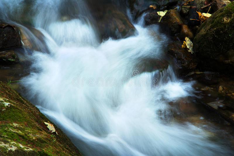 Download Mountain Spring/river During Autumn Royalty Free Stock Image - Image: 29021506