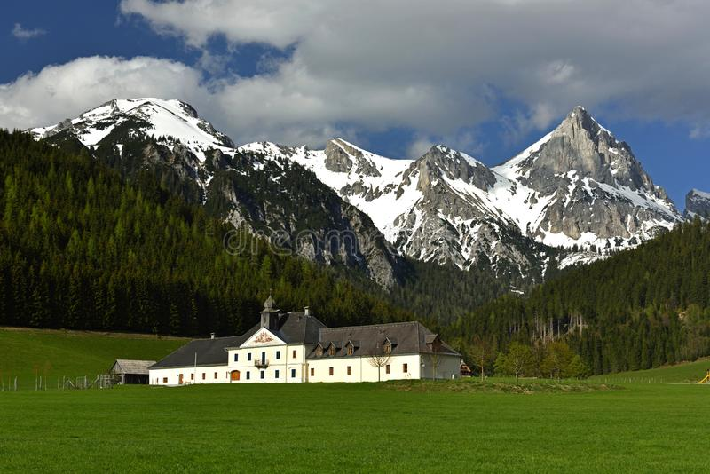 Kaiserau, Ennstaler Alpen, Steiermark, Austria stock photo