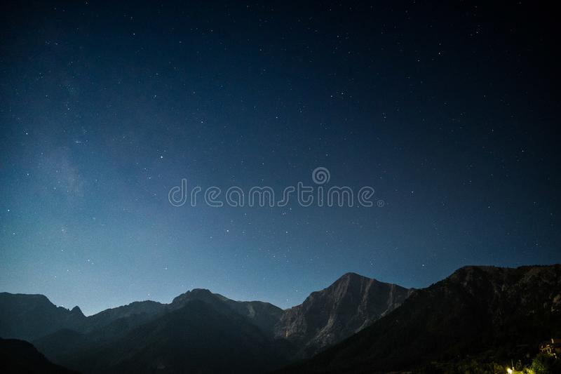 Mountain Stars stock photography