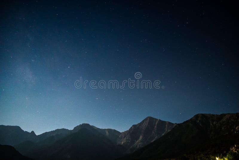 Mountain Stars Free Public Domain Cc0 Image