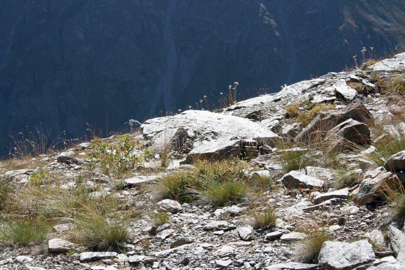 Mountain stones stock photography