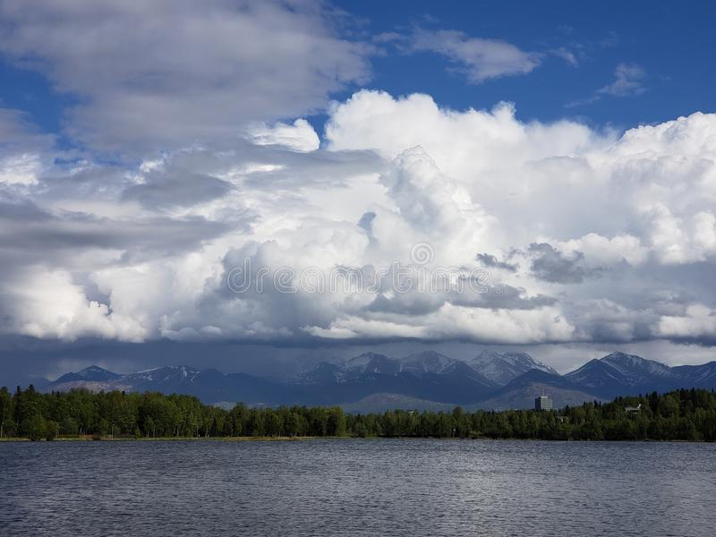 Mountain Storms royalty free stock image