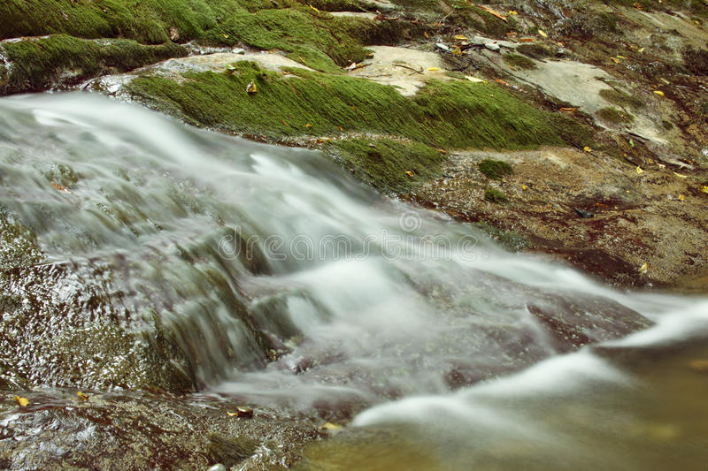 Download Mountain stream stock image. Image of peaceful, flowing - 12262939