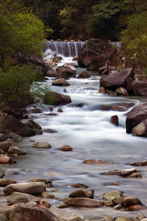 Download Mountain stream stock image. Image of landscapes, travel - 13609681