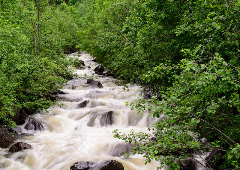 Download Mountain stream stock image. Image of outdoors, image - 25768865