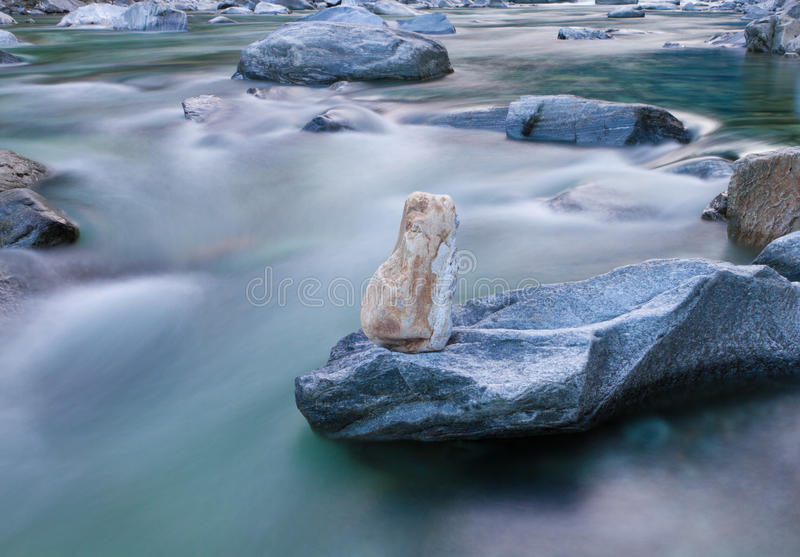 Download Mountain Stream, Long Exposure Stock Photo - Image: 23856696