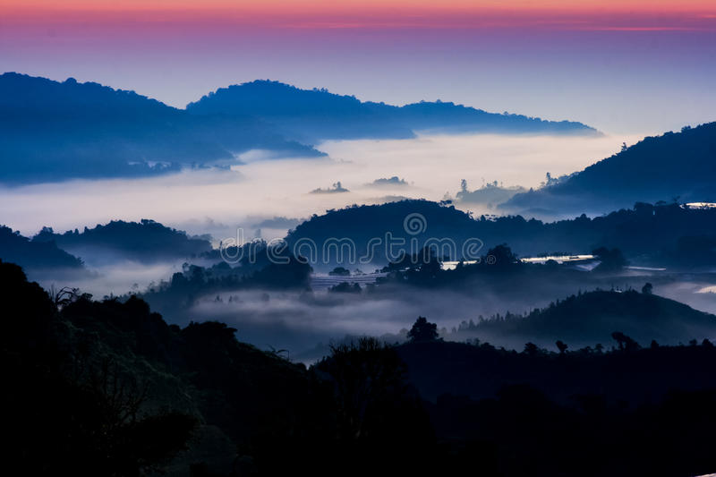 Download Mountain Sunrise stock photo. Image of haze, landscape - 16800828