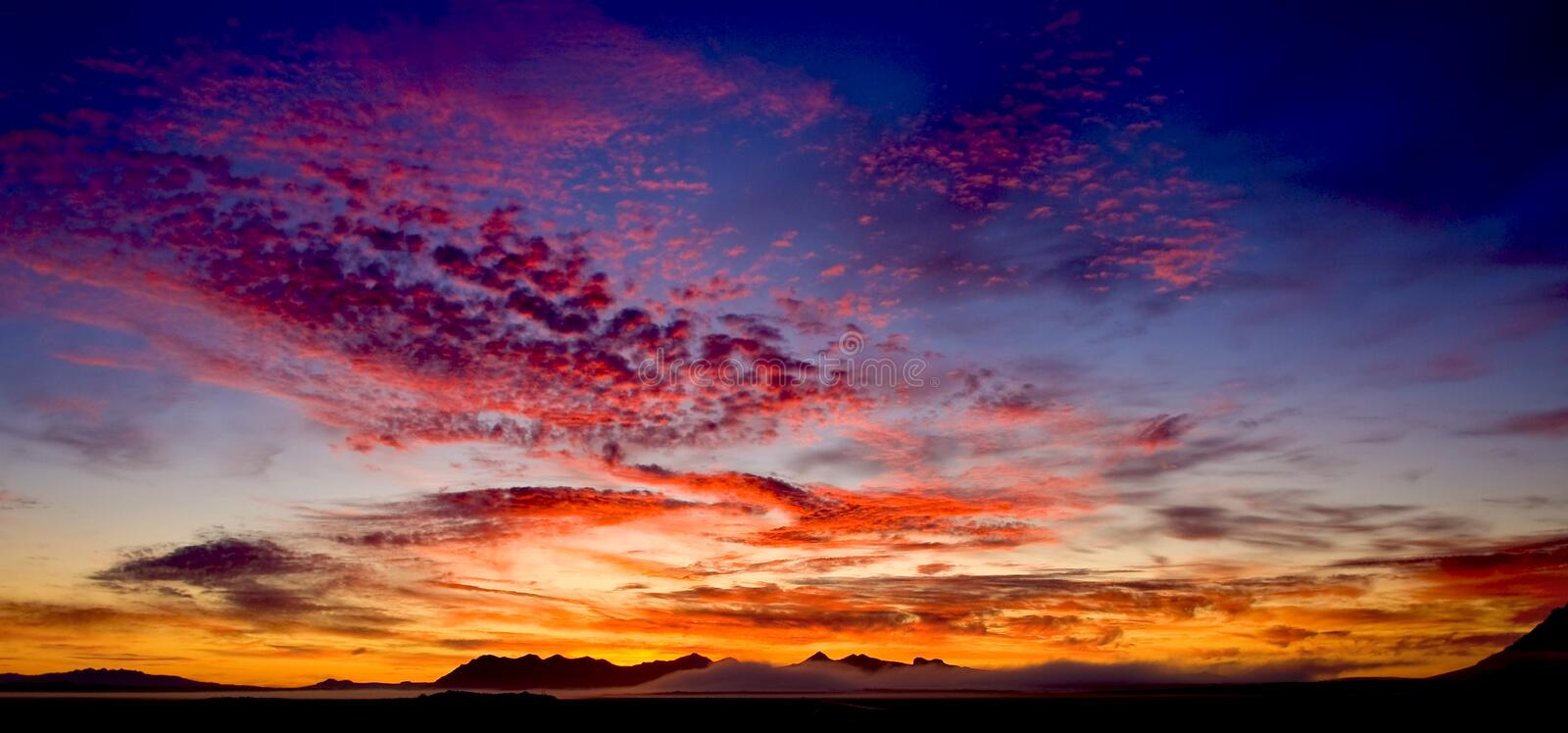 Download Mountain sunrise stock image. Image of beautiful, color - 20798525