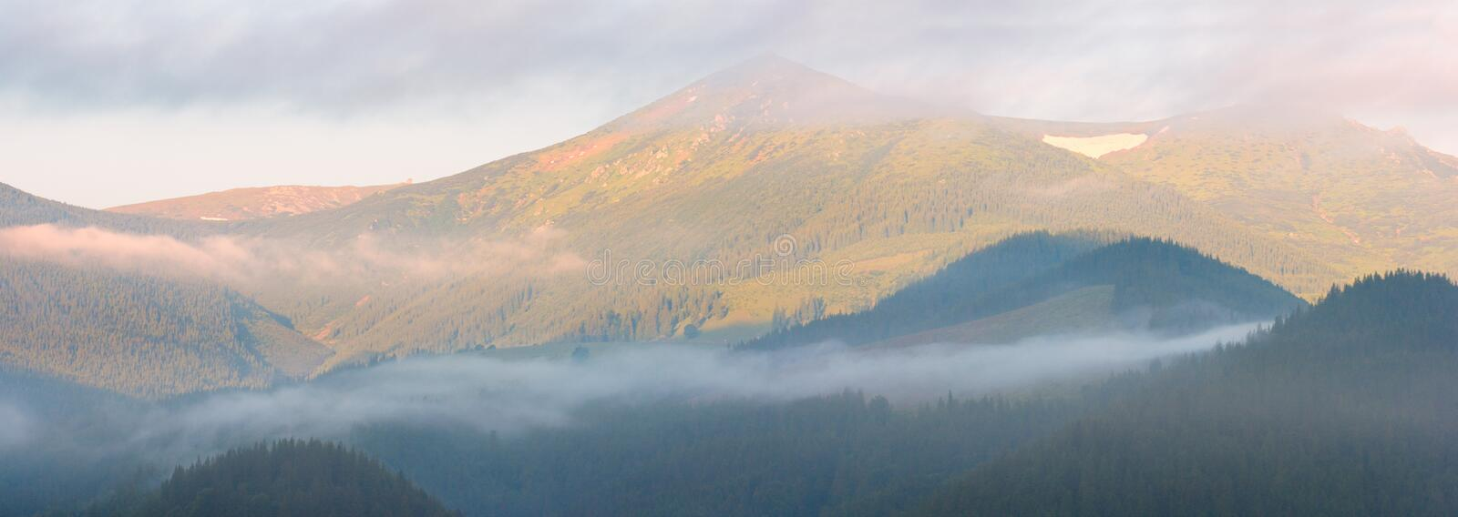 Download Mountain In Sunrise Light Royalty Free Stock Photos - Image: 8257968