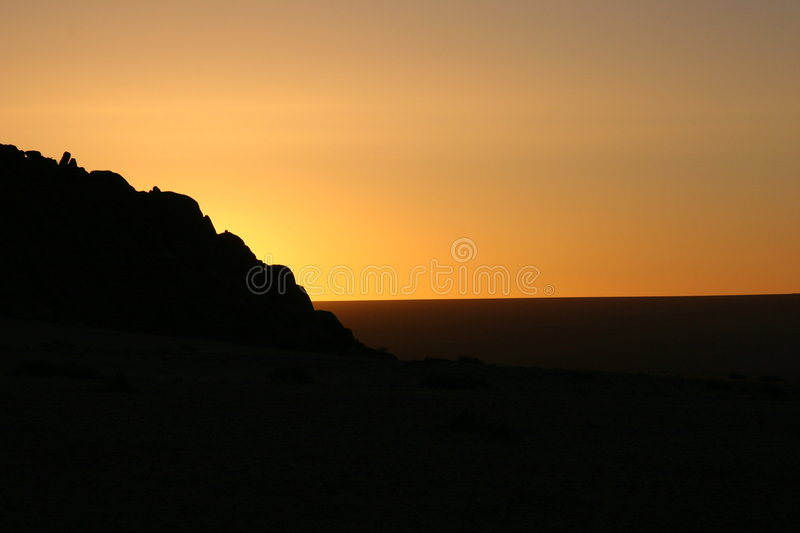 Download Mountain Sunset Stock Photo - Image: 510990