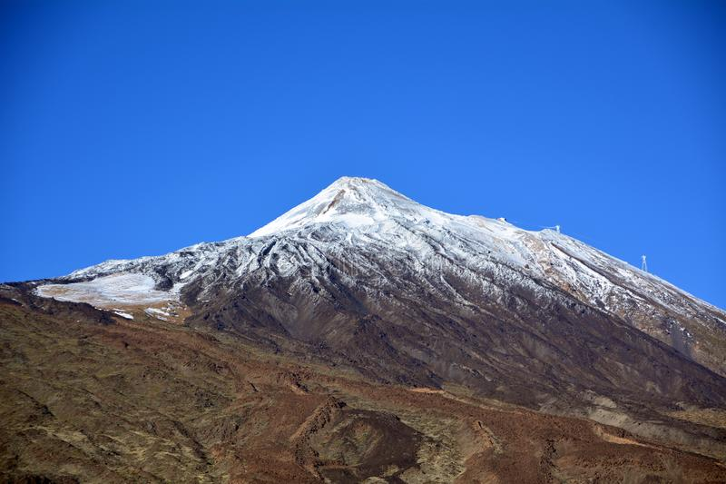 Mountain Teide National Park in Tenerife. Canary Islands. Spain. stock images