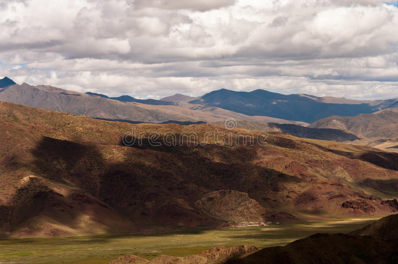 Download Mountain in Tibet stock image. Image of altitude, darchen - 28349783