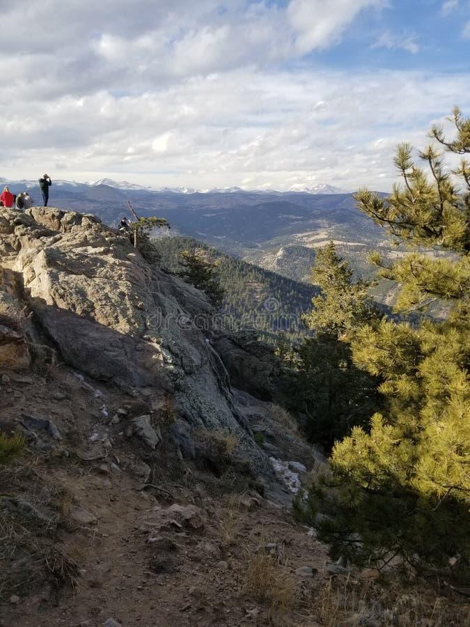 Mountain top stock photos