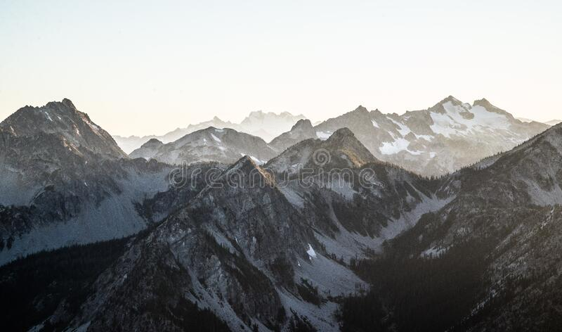 Mountain Tops In Winter Free Public Domain Cc0 Image