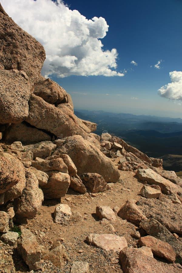 Download Mountain Trail stock image. Image of horizon, mountain - 6180069