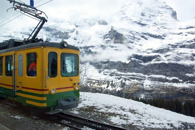 Mountain Train Royalty Free Stock Photography