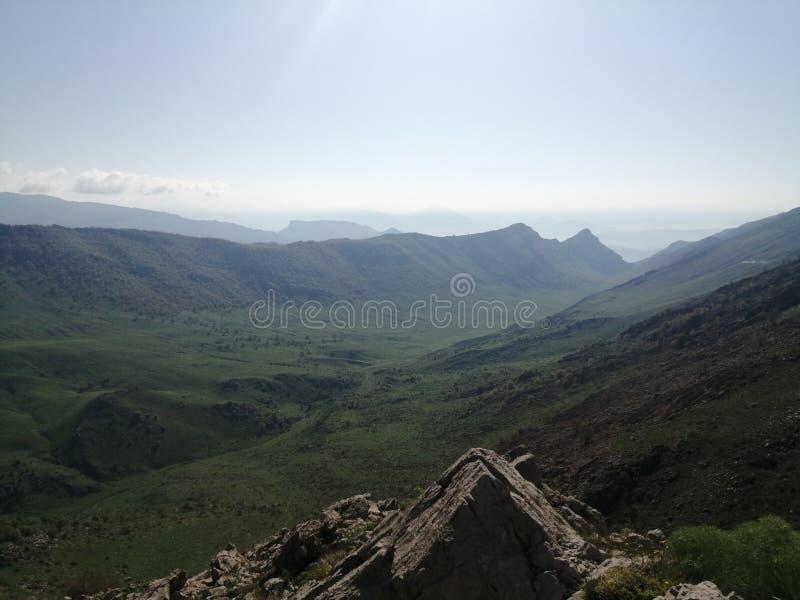 Indian Mountain Roads With Beautiful Scenery Stock Image