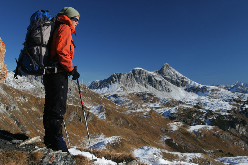Download Mountain Trekking Stock Photography - Image: 7243852