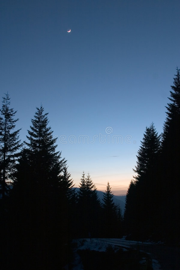 Download Mountain Twilight Royalty Free Stock Image - Image: 72856