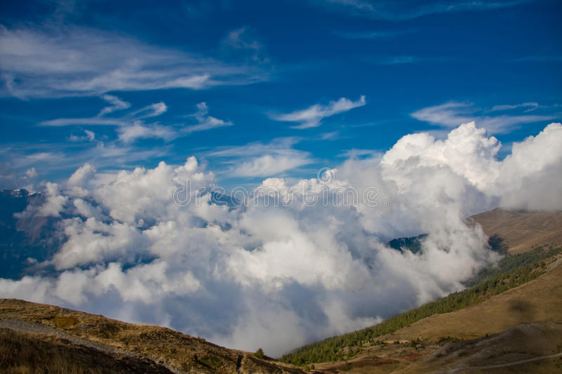 Download Mountain valley stock image. Image of cloudy, peak, russia - 11142767