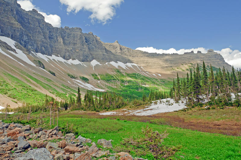 Download A Mountain Valley In Summer Stock Image - Image: 23734759