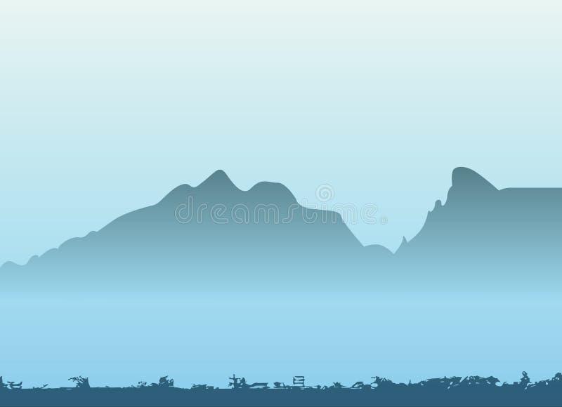 Mountain vector stock photography