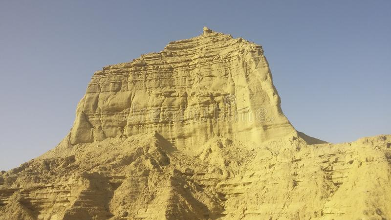 Mountain View пустыни Пакистана стоковые изображения rf