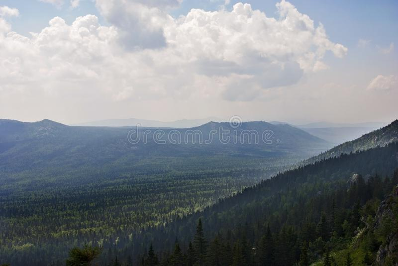 Mountain View стоковая фотография rf