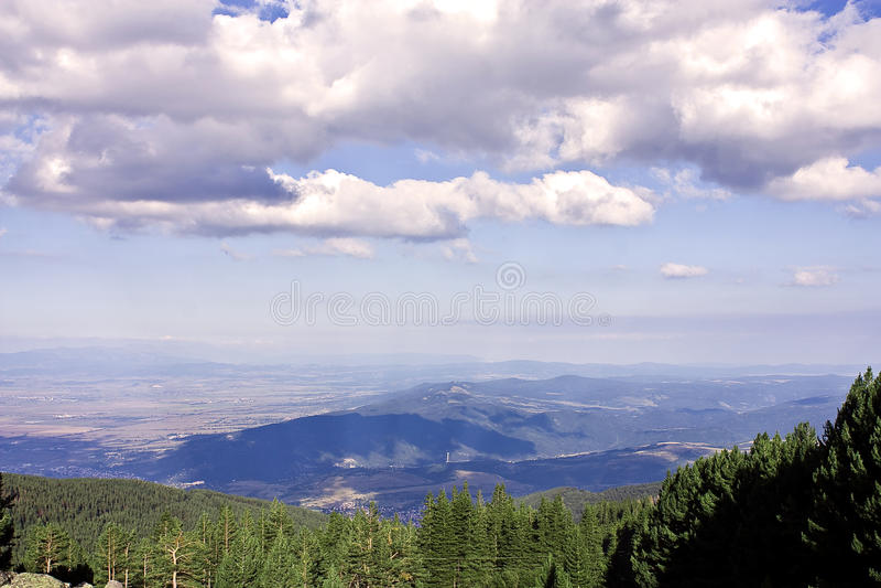 Mountain View stockfotos