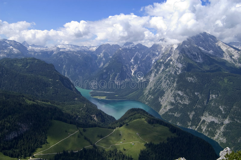 Mountain View 2 lizenzfreie stockfotografie